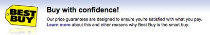 good 'ol customer confidence