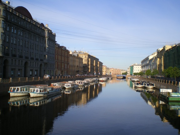 Peek into St. Petersburg, Russia