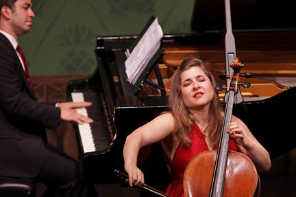 Weilerstein Wows the Dock Street Audience