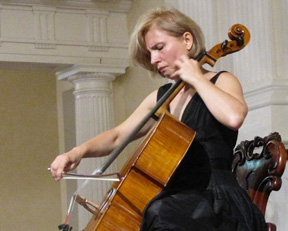 Natalia Khoma Commands the Cello Suites