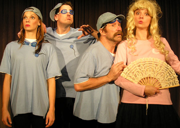 "Hysterical ""Satire Diaries"" Is Artful Theatre"