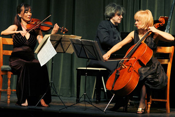 "Music Fest Trio ""Triumphs"" at Simons Center"