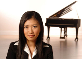 Pianist Chu-Fang Huang at Sottile April 2