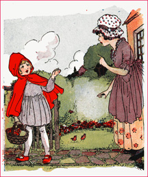 """Little Red Riding Hood"" Sprouts Joy!"
