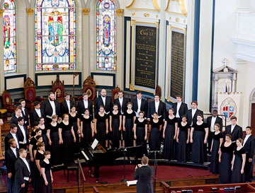 Westminster Choir Inspires Wonder