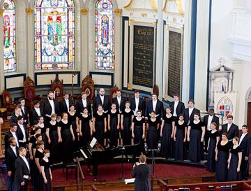 Westminster Choir Inspires Wonder