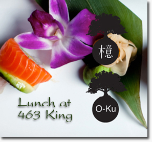 Are we O-Ku for lunch today?